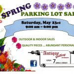 2017 Spring Parking Lot Sale