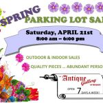 Antique Gallery of Mesquite 8th Annual Parking Lot Sale
